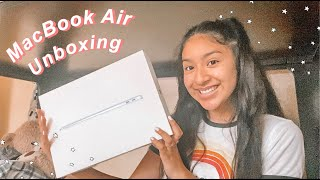 2020 macbook air unboxing