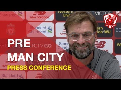 Man City vs. Liverpool | Jurgen Klopp Press Conference