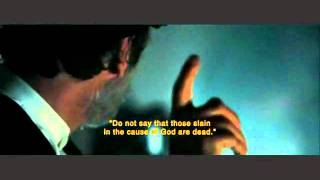 Body of Lies - Leonardo De Caprio explain Koran