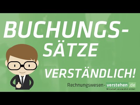 Buchungssätze Buchungssatz Rechnungswesen Verstehende