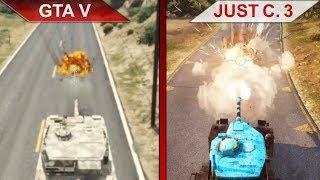 THE BIG GTA V vs. JUST CAUSE 3 SBS COMPARISON 2 | PC | ULTRA