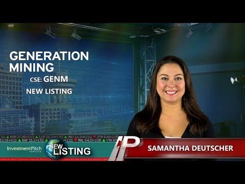 Generation Mining (CSE:GENM) New Listing