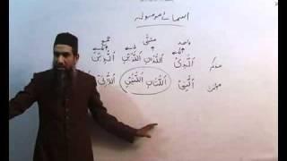 Arabi Grammar Lecture 26 Part 02   عربی  گرامر کلاسس