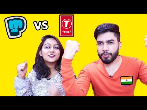 Pewdiepie vs T-Series | Who are we supporting? Mp3