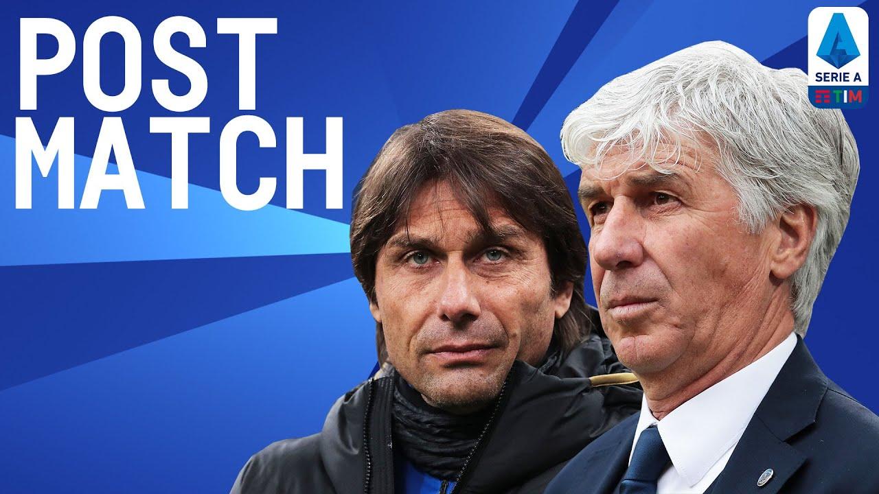 Inter 1-0 Atalanta | Conte & Gasperini Post Match Press Conference | Serie A TIM