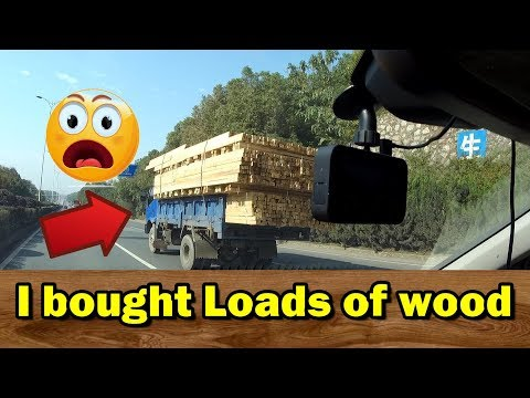 How to buy wood in China VLOG