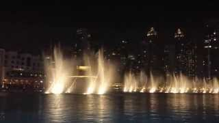 Dubai Fountain - Hero