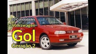 VW Gol: 10 curiosidades da segunda geração | Carros do Passado | Best Cars