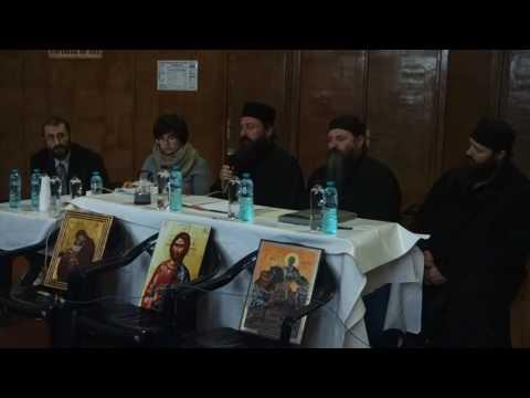 Conferința monahilor din Athos susținută la Iași (12.10.2016)