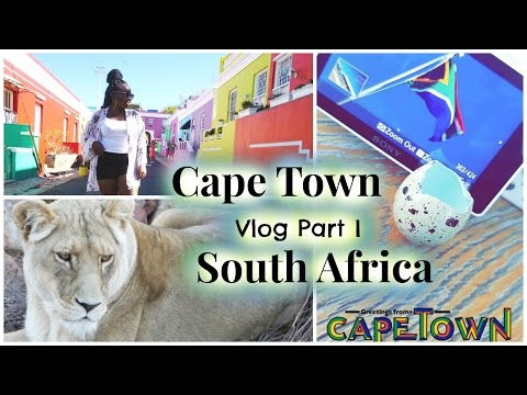 TRAVEL VLOG! Cape Town, South Africa!!! Part I