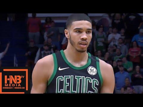 Boston Celtics vs New Orleans Pelicans 1st Half Highlights / March 18 / 2017-18 NBA Season