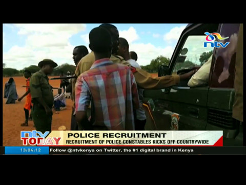 Recruitment of police constables kicks off countrytwide