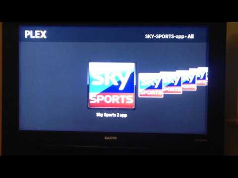 Sky Sports on Plexflix on Now Tv Box