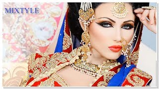 Традиционный азиатский свадебный макияж ❤ Сказочная невеста из Индии 3⃣