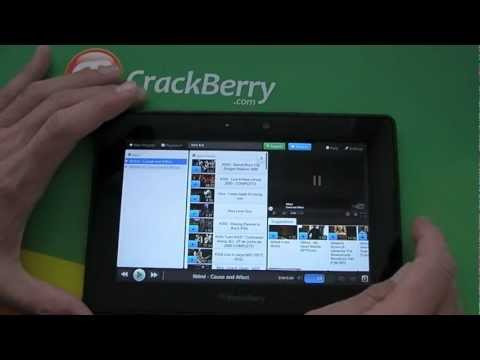 SteroTube for YouTube + MP3 Music Player for the PBlackBerry PlayBook