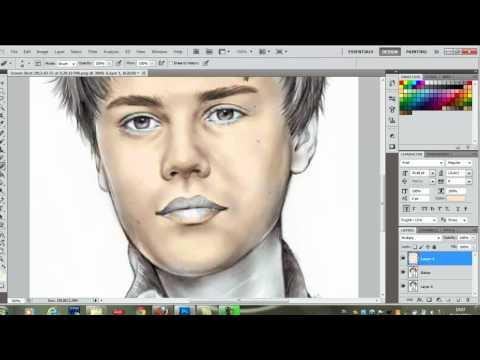 Photoshop CS5 - Color Drawing - Tutorial