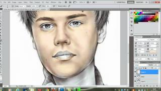 Photoshop CS5 - Color Drawing - Tutorial(Easy to follow ✓ High Definition ✓ I'm pretty sure this tutorial will work for previous versions of Adobe Photoshop too. Rate + Comment + Subscribe = More ..., 2012-04-06T05:08:27.000Z)