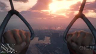 Skydiving in First Person in GTA 5 - IGN Plays