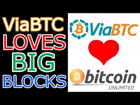 ViaBTC, The World's 6th Biggest Mining Pool Tests Bitcoin Unlimited (The Cryptoverse #88)
