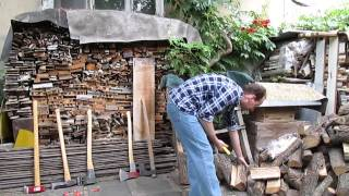 Testing Different Wood Splitting Tools, Part 1