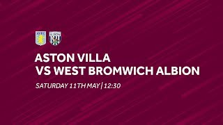Aston Villa 2-1 West Bromwich Albion | Extended highlights