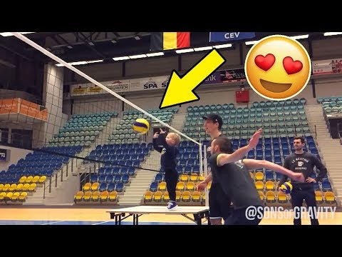 BABY SET !? Beautiful Volleyball Videos (HD)