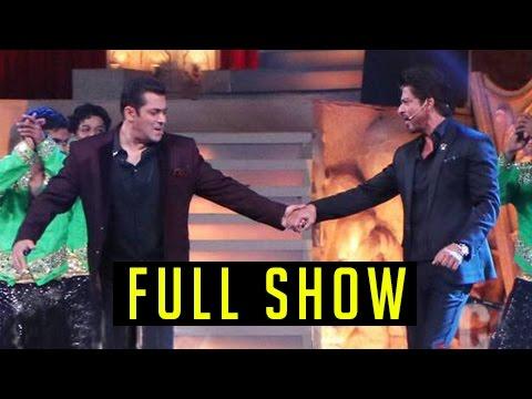 Shah Rukh Khan Salman Khan Host Star Screen Awards 2016 Full Red