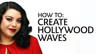 How to: Create Hollywood Waves for Curly Hair | Sephora