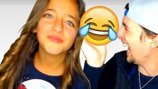 Si te ríes PIERDES (Nivel: Mi hermana es Semi-Dios)   Con mi hermana de 10 años 😱