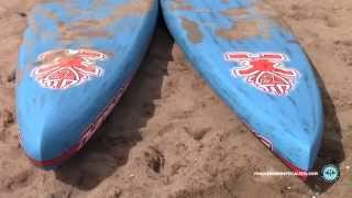 Comparing the 2015 Starboard Race & All Star stand up paddle board (SUP) models