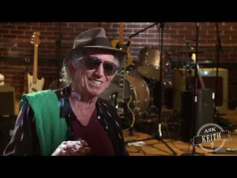 Ask Keith Richards: Open G Tuning