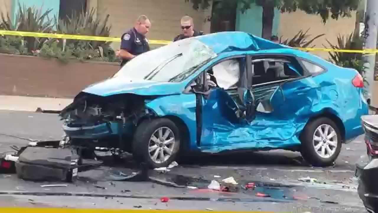 Modesto car crash September 30 by briggsmore