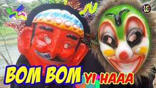 Topeng Ondel dan Topeng Badut Joget Bom Bom Song, Lucu Banget