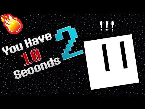 You Have 10 Seconds 2 | BACK IN THE SADDLE!