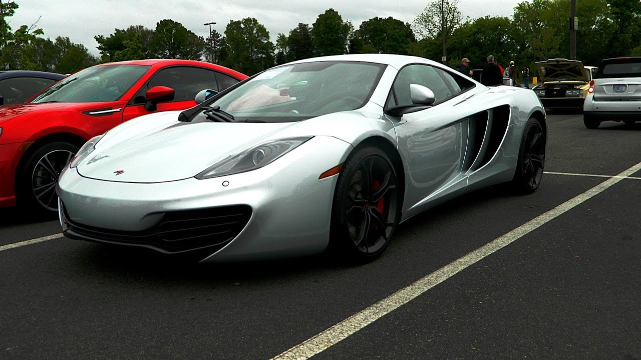 mclaren mp4 12c and more at cars and coffee charlotte many accelerations turn up your volume. Black Bedroom Furniture Sets. Home Design Ideas