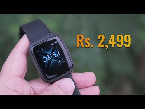 boAt Storm watch - smartwatch for Rs. 2,499 worth it?