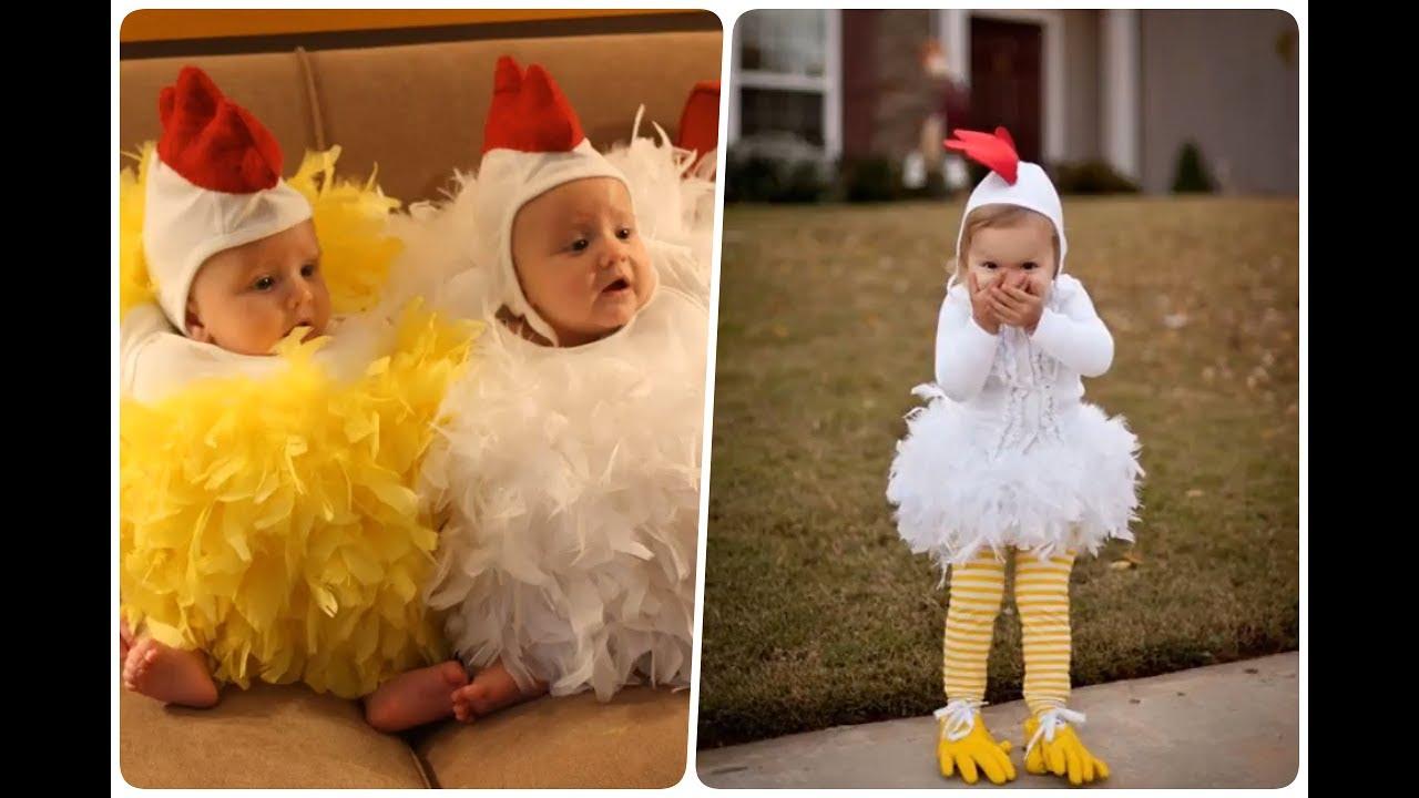 Disfraces de gallina para ni os muy sencillos youtube - Como hacer fotos a bebes en casa ...
