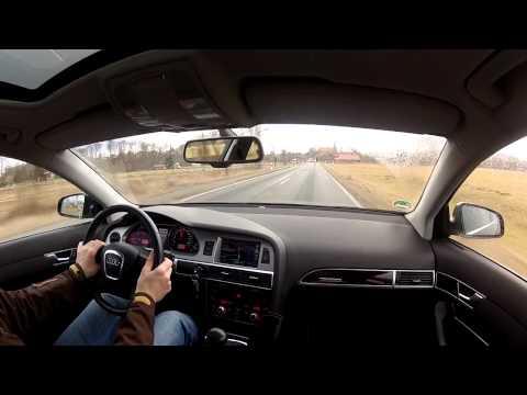 Audi A6 3,0 TDI durch den Südharz