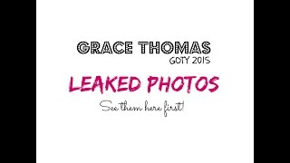 Leaked photos of Girl of the Year 2015, Grace Thomas!