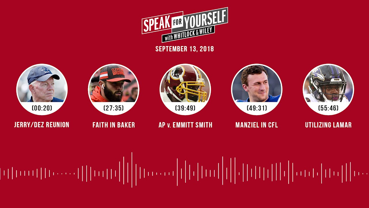 SPEAK FOR YOURSELF Audio Podcast (9.13.18) with Marcellus Wiley, Jason Whitlock | SPEAK FOR YOURSELF