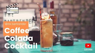 South Indian Coffee Colada | Pina Colada | The BarTrender Tube