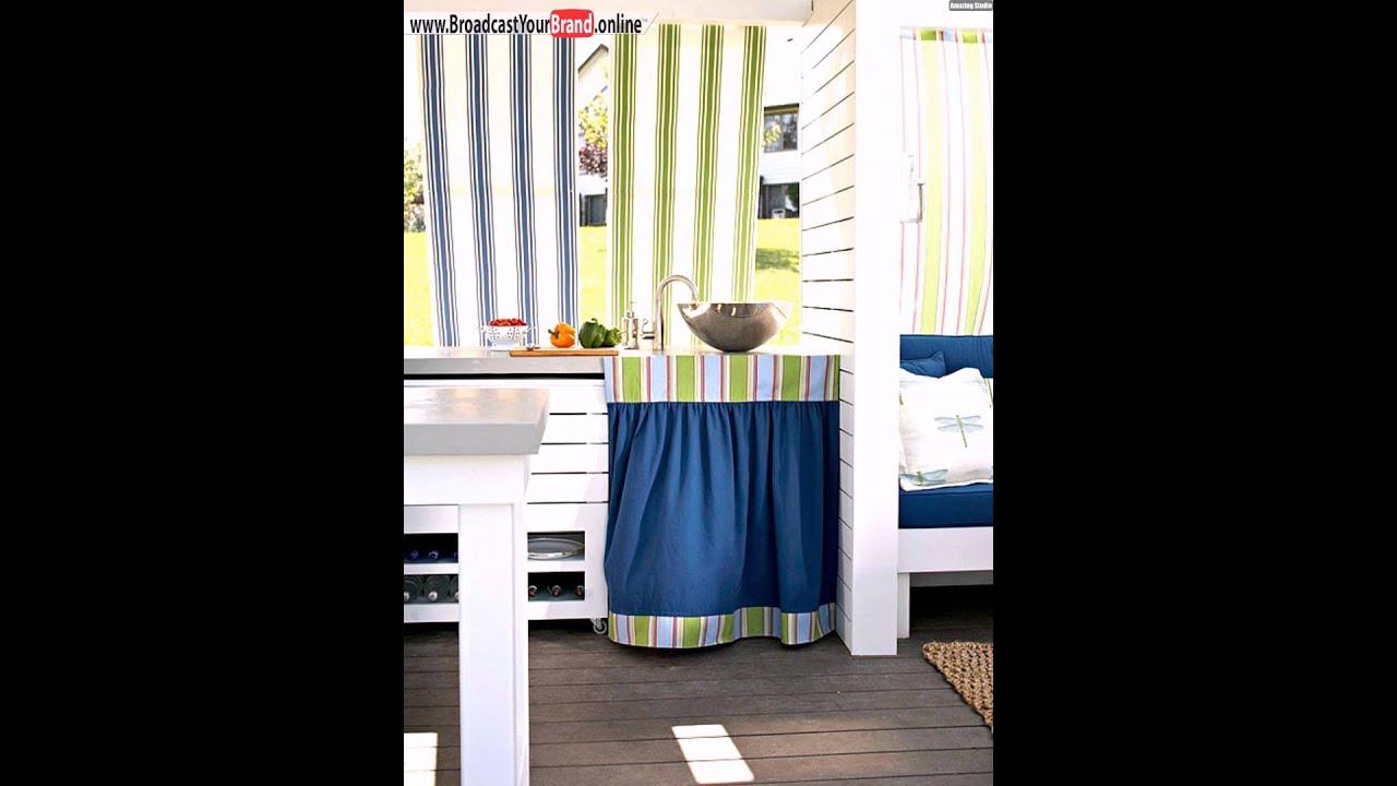 Outdoorküche Mit Spüle Test : Outdoor küche stoffbahnen vorhang unter spüle youtube
