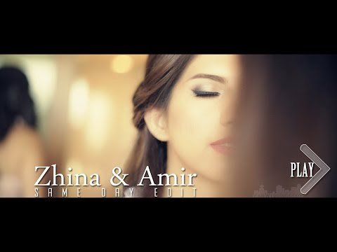 Fun Iranian Wedding Same Day Edit - Zhina & Amir