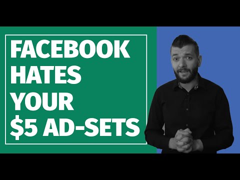 $5 Ad-Sets: A TERRIBLE Facebook Ads Strategy For 2019