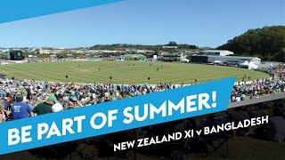 New Zealand XI vs Bangladesh, One Day Tour Match