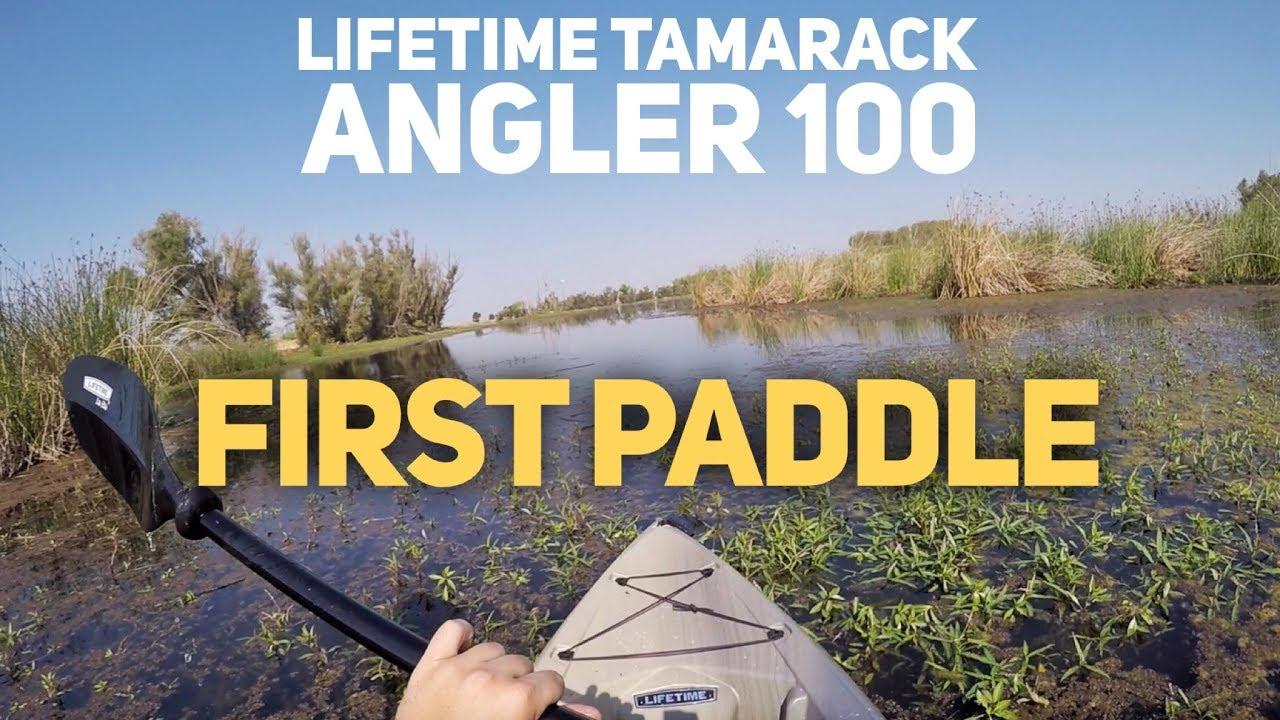 Lifetime Tamarack Angler: The $260 Budget Kayak