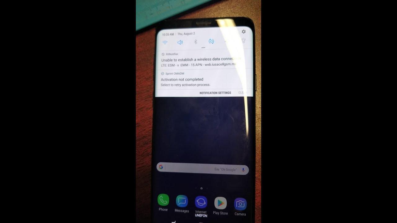 Repair blacklist imei Samsung Galaxy S9 S9+ G960F G965U