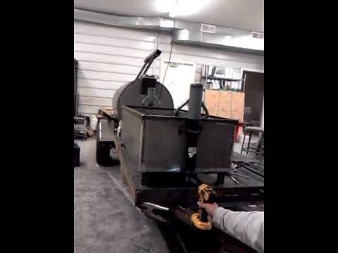 Santa Maria Bbq Grill On Smoker Trailer Youtube