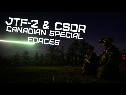 JTF-2 & CSOR • Canadian Special Forces