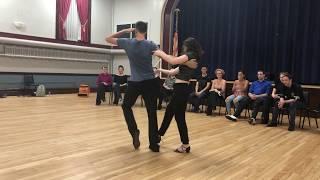 Practice competition, 2018, J&J, finals, spotlight,  Maya and Scott